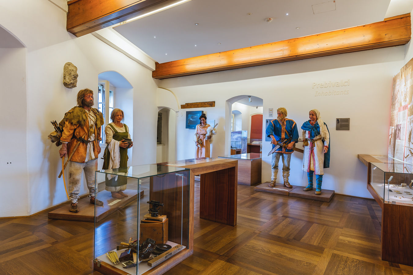 17. THE MUSEUM - ROOM 7: THE INHABITANTS AND EXPLORERS OF BLED